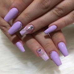 Lilac Nails...