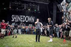 An On This Day 1 year ago @TheBrentSmith photo at Hellfest #BrentSmith #Shinedown #Hellfest (Photo by Kikevist Thierry)