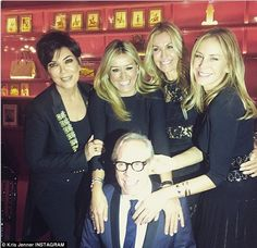 Another event: The ex-wife of Robert Kardashian with Tommy Hilfiger and his family: 'Last ...