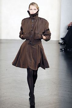 Ralph Lauren Fall 2007 Ready-to-Wear Fashion Show - Valentina Zelyaeva
