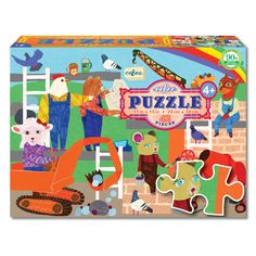 Large Colouring Set Toy With 12 Pastel Crayons And Sea Theme Jigsaw