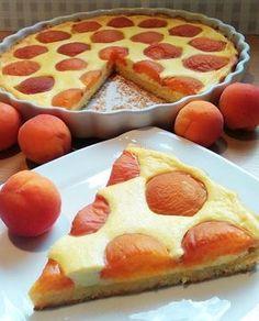 Tarta multe caise,multa branza,Rapida French Toast, Good Food, Food And Drink, Pizza, Peach, Favorite Recipes, Sweets, Baking, Breakfast