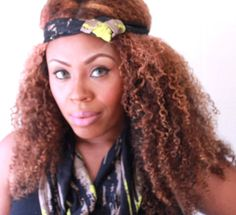 Lime green Knotted headband with matching loop by AmberGlamourLand, $26.00
