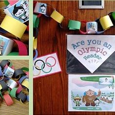 Olympic chain - keep track of cleanest cabin by adding rings for points, and the last day join all the colors together as decor for the feast! Kids Olympics, Summer Olympics, Olympic Idea, Olympic Games, Olympic Crafts, Kindergarten Crafts, Preschool Ideas, Fun Summer Activities, Activity Ideas