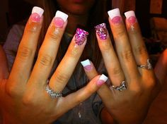 Next nail idea I think yess Get Nails, How To Do Nails, Hair And Nails, French Manicure Acrylic Nails, Shellac Nails, Manicure Tips, Matte Nails, Cute Nail Designs, Acrylic Nail Designs