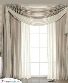 Simple Beige - Bedroom Curtain Ideas,Simple Beige - Bedroom Curtain Ideas Curtain track or curtain pole? The most common kinds of fastening for curtains are rods and rails. Rustic Window Treatments, Sliding Door Window Treatments, Window Treatments Living Room, Living Room Decor Curtains, Home Curtains, Living Room Windows, Window Curtains, Curtain Ideas For Living Room, Luxury Curtains