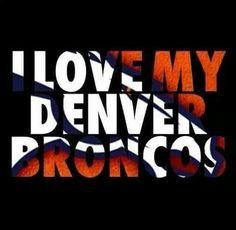 I love my denver broncos, football, nfl Broncos Gear, Denver Broncos Football, Go Broncos, Broncos Fans, But Football, Football Baby, Football Season, Football Things, Football Memes