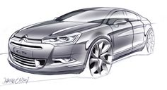 citroen c5 sketch - Google 검색