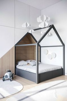 Картинки по запросу кровать домик
