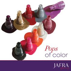 Pops of color with powerful protection! Strengthen your nails in style!