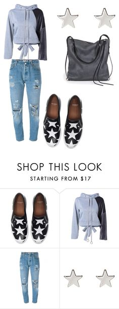 """""""Untitled #405"""" by jenn-m31 ❤ liked on Polyvore featuring Givenchy, RE/DONE, Jennifer Meyer Jewelry and Ina Kent"""