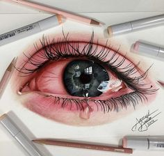 285 Eye Drawing Tutorials In like manner with any piece of unmistakable drawing, eyes can show inconvenient once in a while. Iris Drawing, Drawing Eyes, Crying Eye Drawing, Pencil Art Drawings, Cool Drawings, Eye Drawings, Iris Art, Realistic Eye Drawing, Eye Drawing Tutorials
