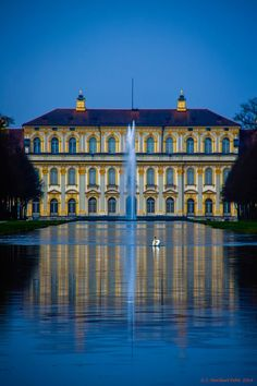 Schloss Schleißheim (The Schleissheim Palace),  Oberschleißheim, Munich, Bavaria, Germany....    www.castlesandmanorhouses.com?utm_content=buffer75a30&utm_medium=social&utm_source=pinterest.com&utm_campaign=buffer    ...    The Schleissheim Palace comprises three individual palaces in a grand baroque park. They provided a summer residence for the Bavarian rulers of the House of Wittelsbach.