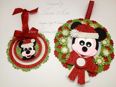 CUTE Mickey Punch Art Tags!!