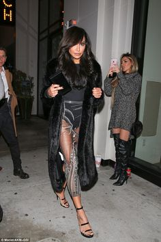 Sheer delight: Naya Rivera, 29, put on a stunning display as she attended the Mad Families premiere party at Catch LA on Monday night
