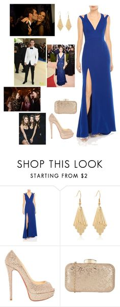"""""""Powerful"""" by tiarenee-shaw ❤ liked on Polyvore featuring Halston Heritage, Christian Louboutin, GALA and Nespresso"""