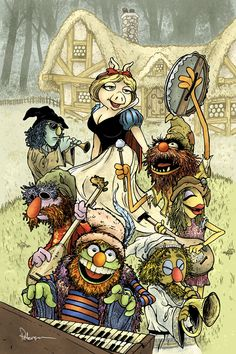 The Muppets: Snow White by David Peterson