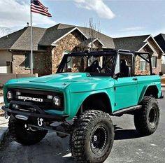 Bronco - want Classic Bronco, Classic Ford Broncos, Ford Classic Cars, Classic Trucks, Bronco Truck, Jeep Truck, Chevy Trucks, Pickup Trucks, Lifted Trucks