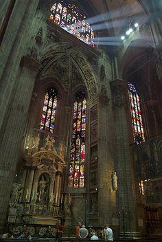 Vidrieras de la Catedral de Milán