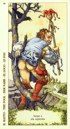The Fool - Albrecht Dürer Tarot by Giacinto Gaudenzi Tarot The Fool, Albrecht Dürer, Gravure Illustration, Free Tarot Reading, Your Guardian Angel, Tarot Major Arcana, Orisha, Hieronymus Bosch, Oracle Cards