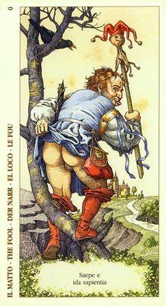 O. The Fool - Albrecht Dürer Tarot (2002) by Giacinto Gaudenzi