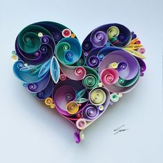 """Istanbul-based Turkish artist Sena Runa left her job as an HR Specialist earlier this year to pursue her passion for paper quilling as a full-time job. """"I"""