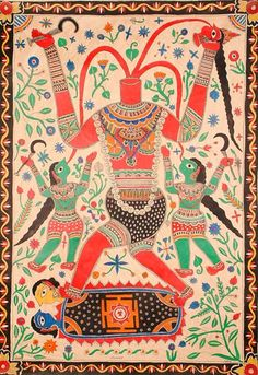 chinnamasta goddess Tibetan Art, Durga Goddess, Place Of Worship, Hinduism, Mythology, Persian, Palette, Kids Rugs, Indian
