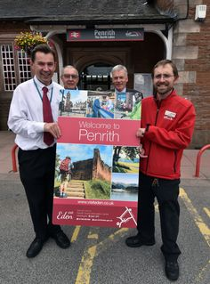 Very pleased with our new 'Welcome to Penrith' sign for Penrith Railway Station.... We think it looks great! Look out for it if you are arriving by train over the Summer.  The sign was part of a joint initiative between us and Virgin Trains
