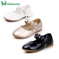 Cheap girls white dress shoes, Buy Quality girls dress shoes white directly from China dress shoes girls Suppliers: Girls White Dress Shoes Models Flower Princess Shoes PU Leather Korean Students 3 Color Baby Party Shoes For Children White Dress Shoes, Girls Dress Shoes, Girls White Dress, Kid Shoes, Victoria Shoes, Shoe Recipe, Korean Student, Princess Shoes, Fashion Leaders