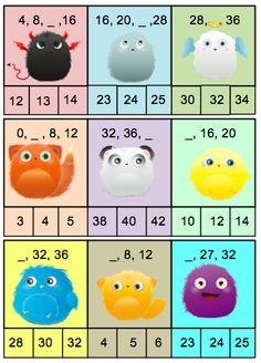 1st Grade Math, Grade 1, Second Grade, Kindergarten Centers, Preschool Math, Skip Counting, Math Worksheets, Scandal Abc, Homeschool
