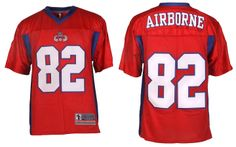 82 Airborne - Football Jersey - RED c495e392d