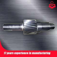 Eje de engranaje  http://www.gear-ring.es/product/show-15-gear-shaft.html