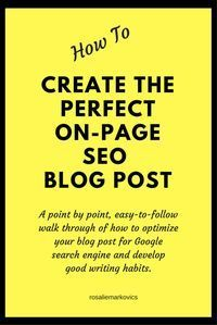 The Perfect Post-Important checklist of elements to include in your post before you publish #checklist #post #blog  https://hotmarketingtipsandtools.blogspot.com.au/2017/04/the-ultimate-checklist-for-perfect-post.html
