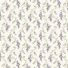 MyTinyWorld Dolls House Miniature Hanging Purple Flower Wallpaper: Amazon.co.uk: Toys & Games