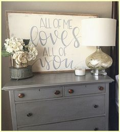 All of me loves all of you Farmhouse Style Sign #JohnLegend #Love #FarmhouseDecor #Ad #Marriage #WallArt #HomeDecor #FixerUpper