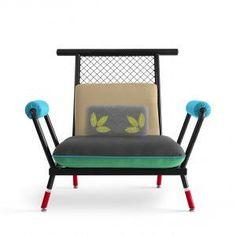 Paulo+Kobylka+designs+furniture+using+brightly+painted+industrial+mesh