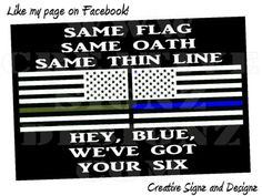 Blue Lives Matter Law Enforcement Police