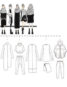 Fashion Design, Collection development, Fashion illustration, Technical Flats