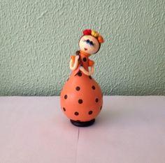 Cabaça - Boneca branquinha R$ 30,00