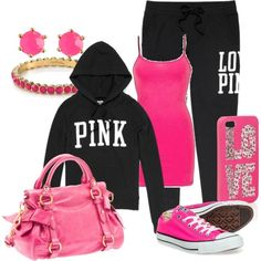 Love Pink.... I just like the clothes