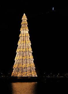 Lagoa's Xmas Tree, RJ, Brasil.  Rio de Janiero, Brasil, árvore de natal
