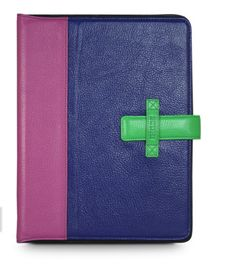Colorblock iPad cases. Oooh!!! (And on sale if you get them right now.)