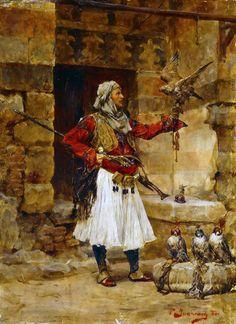 Albanian Culture, Greek Warrior, Oriental, Weird, Fantasy, History, Truths, Painting, Image