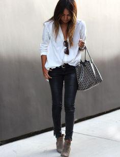 os Achados |Moda |Camisa Branca