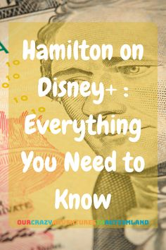 Everything You Need To Know About Hamilton Coming to Disney Kindergarten Homeschool Curriculum, Homeschooling, Disney Activities, Disney Planning, Music Lessons, Need To Know, Hamilton, High School, This Book