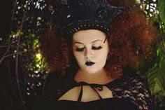 Plus Size Gothic Editorial || Model: Babu Carreira || Photographer: Géssica Hage