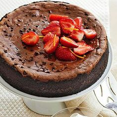 <3 Chocolate Mocha Cheesecake