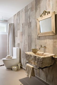Wood effect panoramic wallpaper WHITE SCRATCH - Inkiostro Bianco