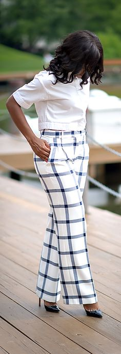 Checked / Fashion By Jadore-Fashion