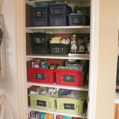 Small Pantry Organization Systems
